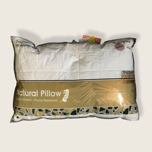 NWT Queen Feather Pillow